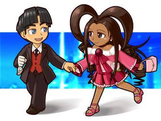 Nico and Bijou by odaleex