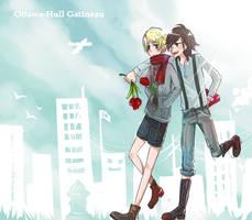 -Ottawa-Gatineau- Walking... by Misharoyuki