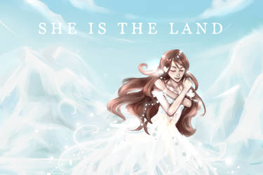 Cym Tribute: She is the Land by Misharoyuki