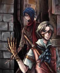 Steampunk Duo by Misharoyuki