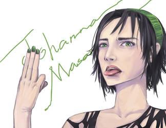 Johanna Mason by Misharoyuki