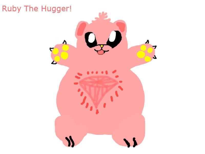 Ruby The Hugger by LucarioLover1994