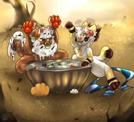 Bobbing for Snacks   Chimereon Mystic Harvest