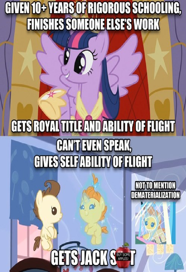 Mlp Fim Logic On Everyone By Keyblademagicdan On Deviantart