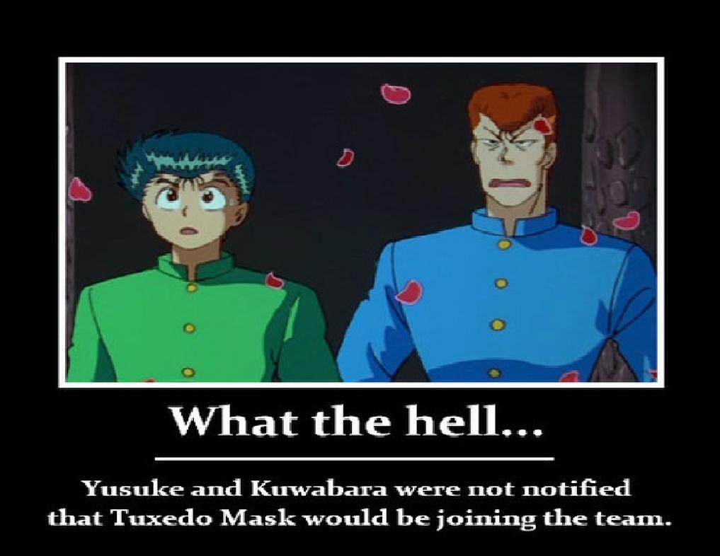 Tuxedo Mask in Wrong Anime Called Yu Yu Hakusho by ...