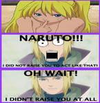 Naruto Dad reaction to Sexy No Justu
