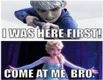 Jack Frost Vs Elsa in Ice Battle
