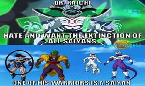 Why Dr Raichi Didnt Hates on Turles