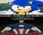 Sonic and Captain America Got Same Voice Actor