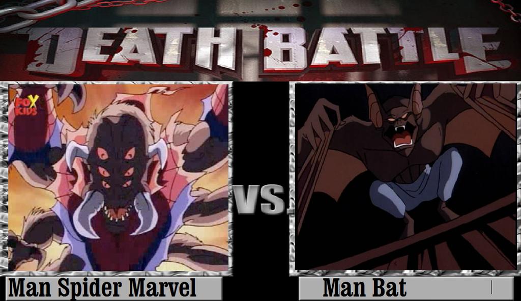Man Spider Vs Man Bat by KeybladeMagicDan on DeviantArt Manspider Vs Manbat
