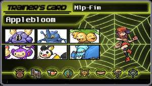 Applebloom As Pokemon Trainer by KeybladeMagicDan