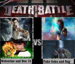 Wolverine and Ben 10 Vs Fake Goku and Ong