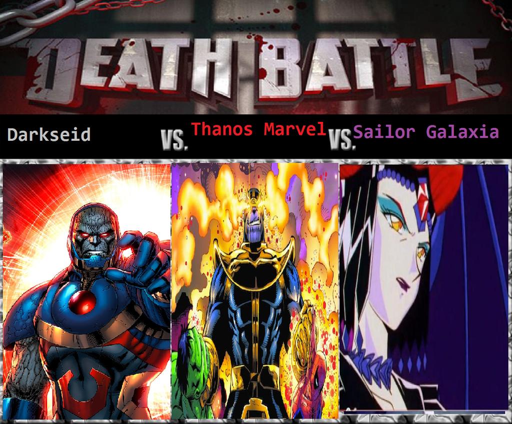 Thanos Vs Darkseid Vs Sailor Galaxia By Keyblademagicdan – Desenhos