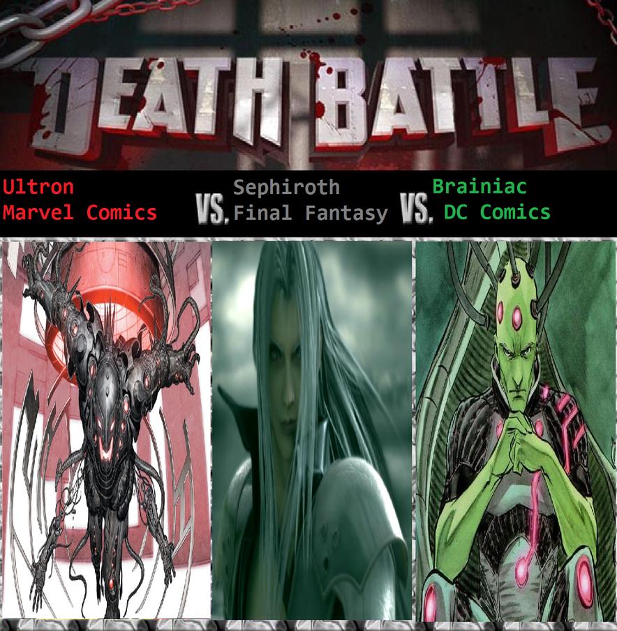Ultron Vs Sephiroth Vs Brainiac by KeybladeMagicDan on ...