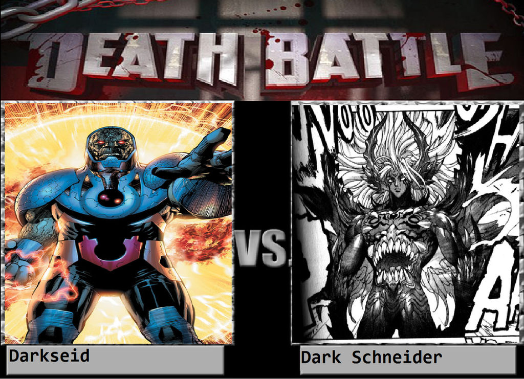 Darkseid Vs Dark Schneider by KeybladeMagicDan on DeviantArt