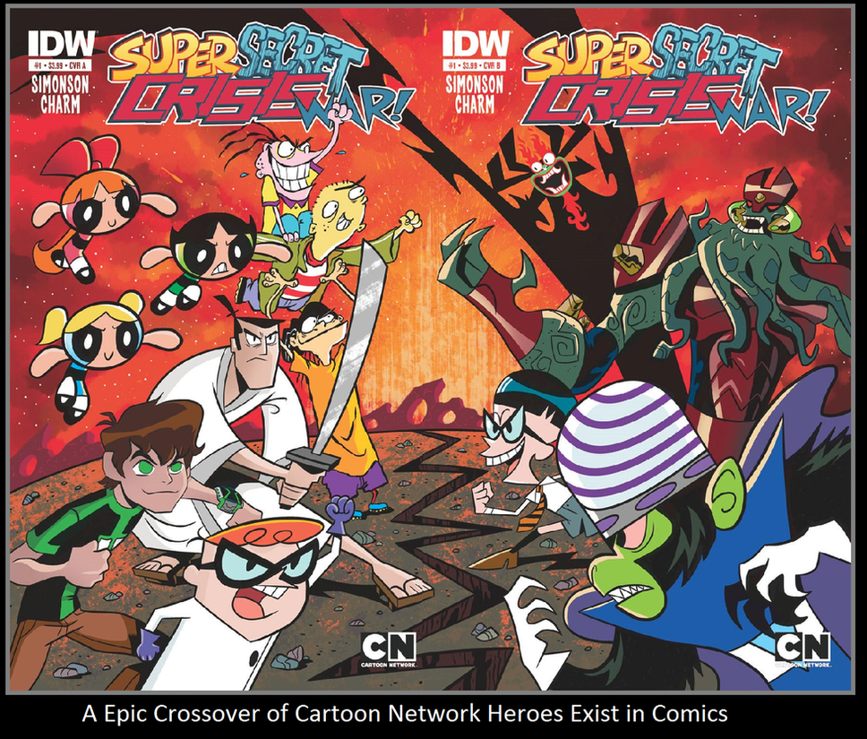 A Epic Crossover Of Cartoon Network Heroes By