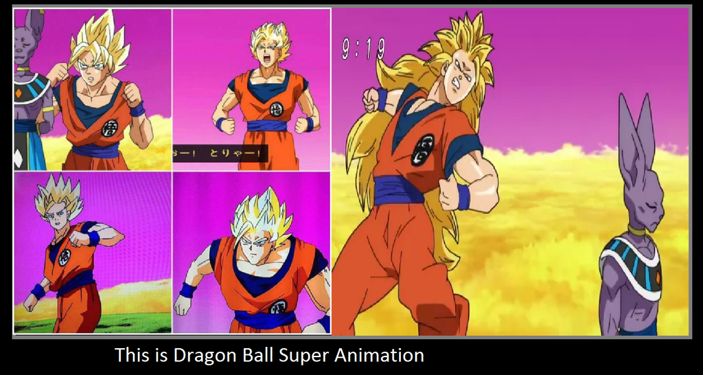 If You Re Going To Hate Over Dbs For Bad Animation Then Hate On Dbz