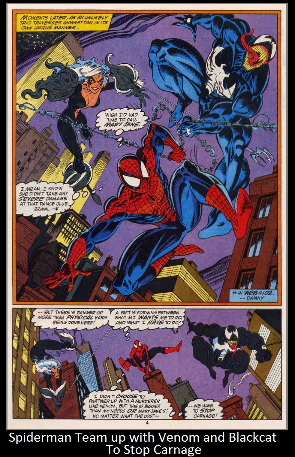 Spiderman Team up with Venom and Blackcat by KeybladeMagicDan on ...