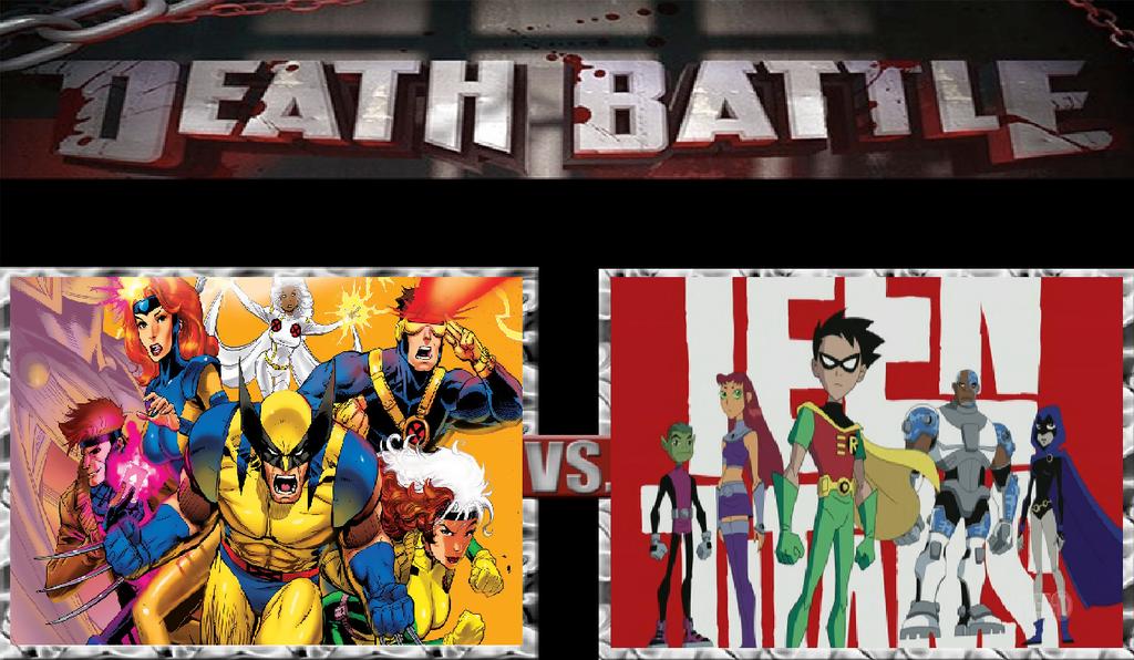 Teen Titans Vs X Men 69