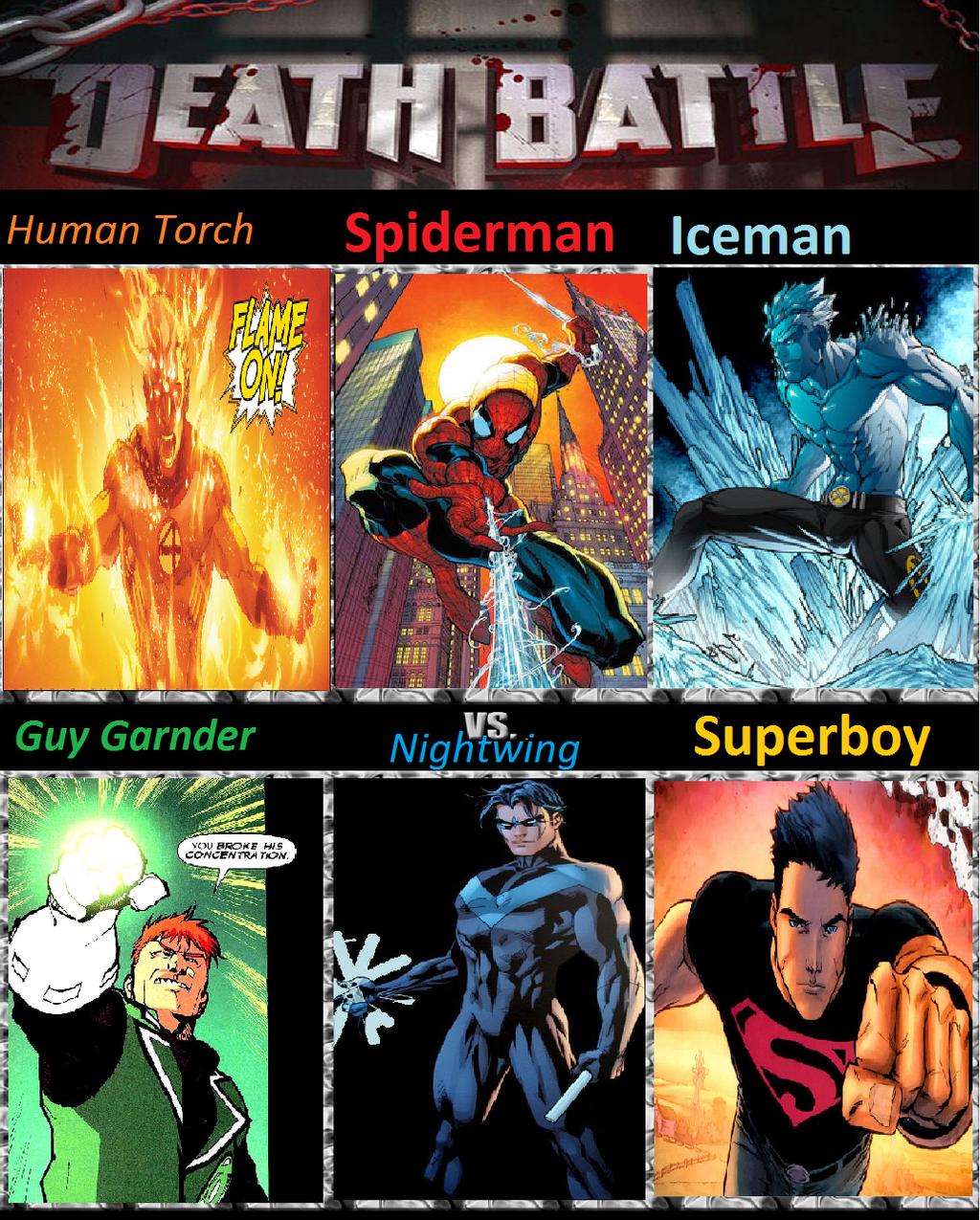 Spiderman vs Nightwing by KeybladeMagicDan on DeviantArt