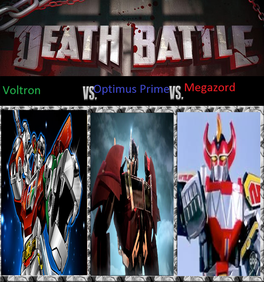 Voltron Vs Optimus Prime Vs Megazord by KeybladeMagicDan ...