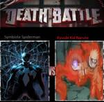 Symbiote Spiderman vs Kyuubi Kid Naruto