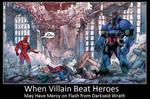 When Villain Beat Heroes