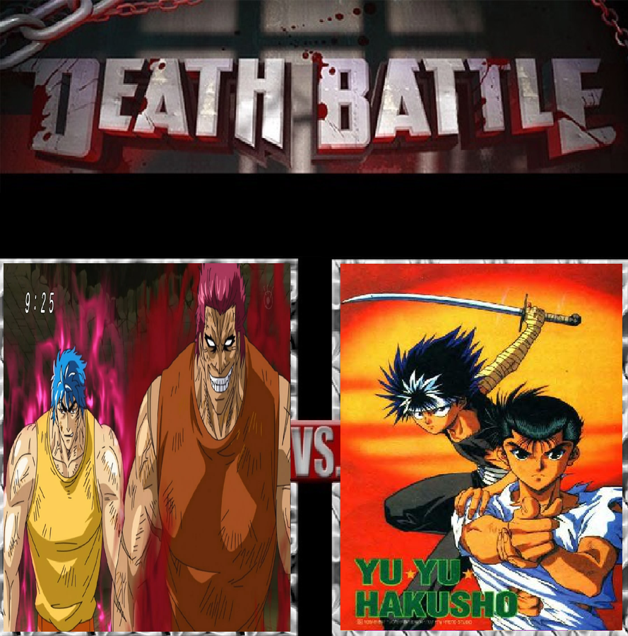 Toriko And Zebra Vs Yusuke And Hiei By KeybladeMagicDan On