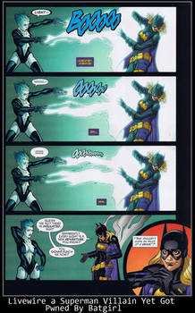 Livewire a Superman Villain Yet Got Pwned