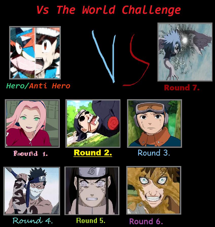 Ash Greninja Vs Naruto Challenge By KeybladeMagicDan On