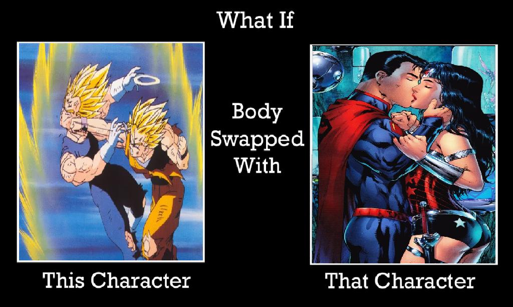 Deviantart Body Swap: What If Goku Body Swap With Superman By KeybladeMagicDan