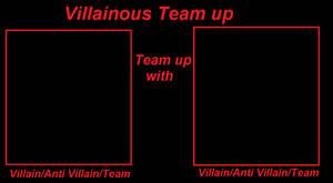 Villainous Team up meme