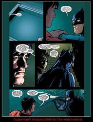 Superman's Responsibility by KeybladeMagicDan