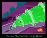 Danny Phantom's Energy Blast by KeybladeMagicDan