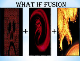 What if Red,Giygas and Phoenix Force fusion by KeybladeMagicDan