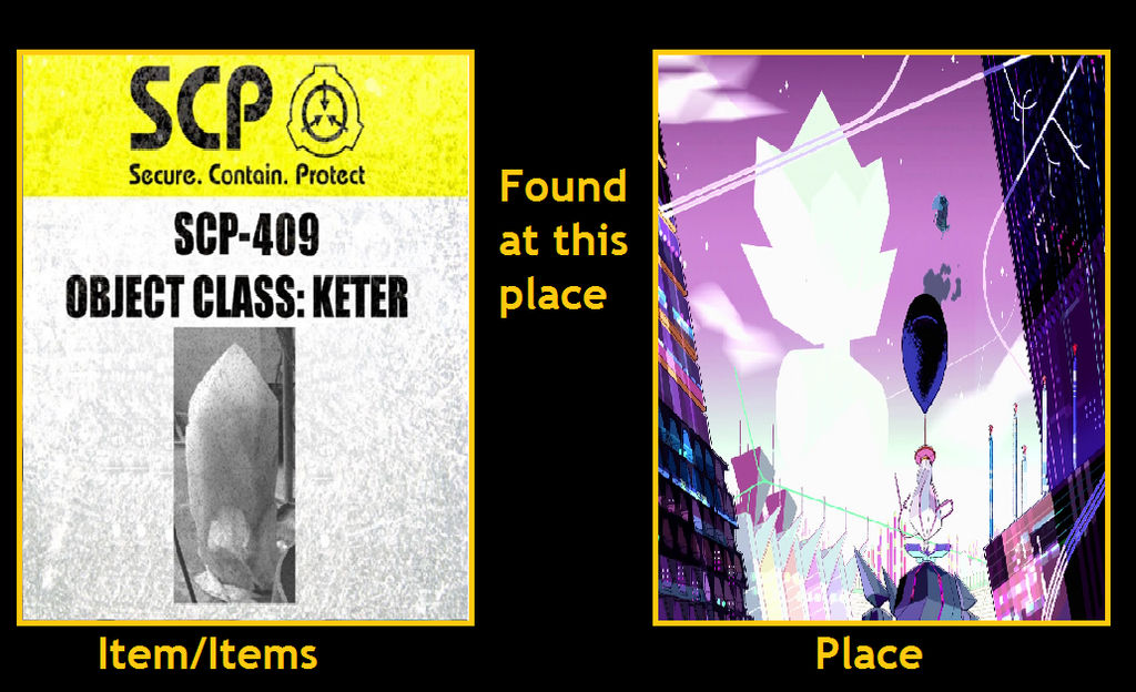 What if Scp 409 in Gem Homeworld(Steven Universe) by