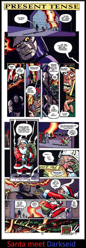 Santa meet Darkseid