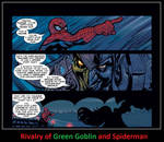 Rivalry of Green Goblin and Spiderman