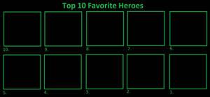 Top 10 Favorite Heroes