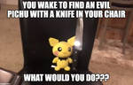 What if you meet Evil Pichu in Kitchen