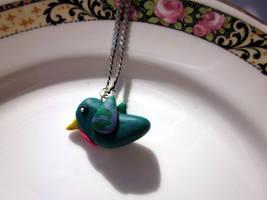 Hummingbird Neclace by JewelleryByABC