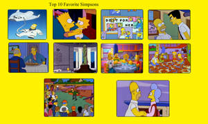 My Top 10 Favourite Simpsons Episodes
