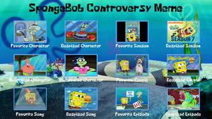 My SpongeBob Squarepants Controversy Meme