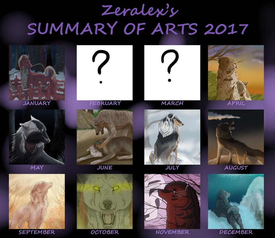 Art summary 2017 by ZeRaLeX