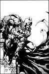 Finch Batman - inks