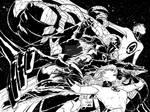 Quesada Fantastic Four - inks