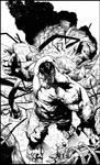 Shaw Hulk - inks