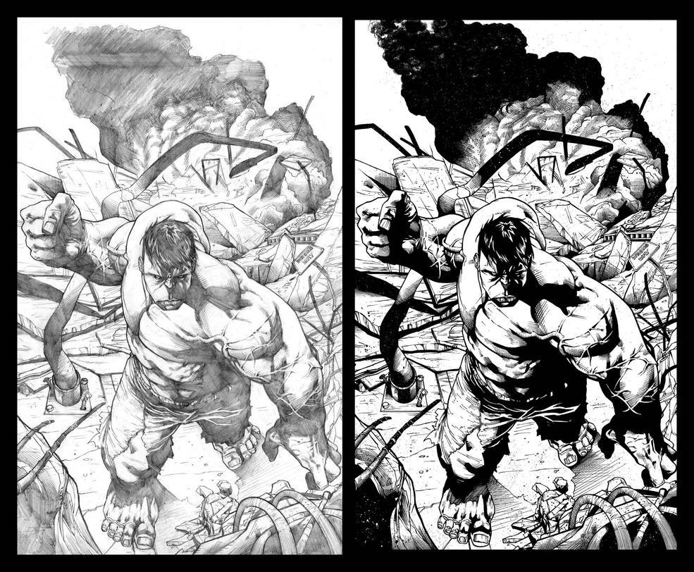 Shaw Hulk SBS by JeffGraham-Art