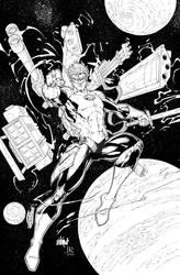 Marion Green Lantern - hires by JeffGraham-Art