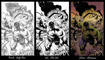 Shaw Hulk SBSBS #4 - Hitotsumami